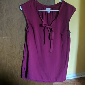 Pinkish Burgundy Dress Shirt